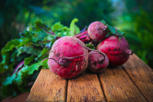 Hochbeet Rote Bete